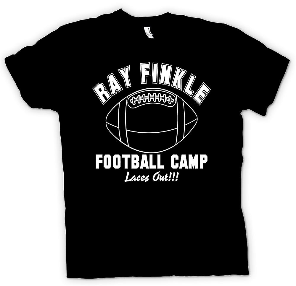 Mens T-shirt - Ray Finkle Football Camp, Laces Out - Quote
