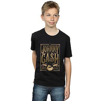 Johnny Cash Boys Guitar Gold T-Shirt