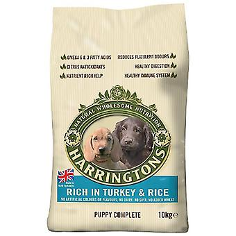Harrington's Puppy Food Dry Mix Complete Rich In Turkey and Rice