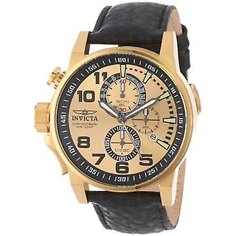 Invicta  I-Force 14475  Leather Chronograph  Watch