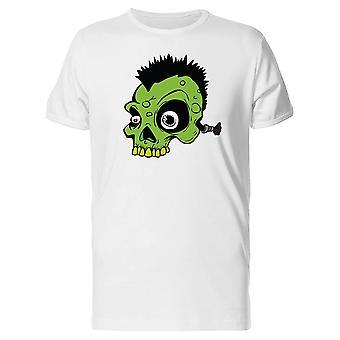 Green Punk Skull  Tee Men's -Image by Shutterstock