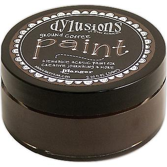 Dylusions By Dyan Reaveley Blendable Acrylic Paint 2oz-Ground Coffee