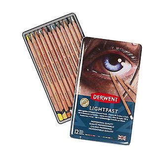 Derwent Lightfast Pencil Tin Set 12