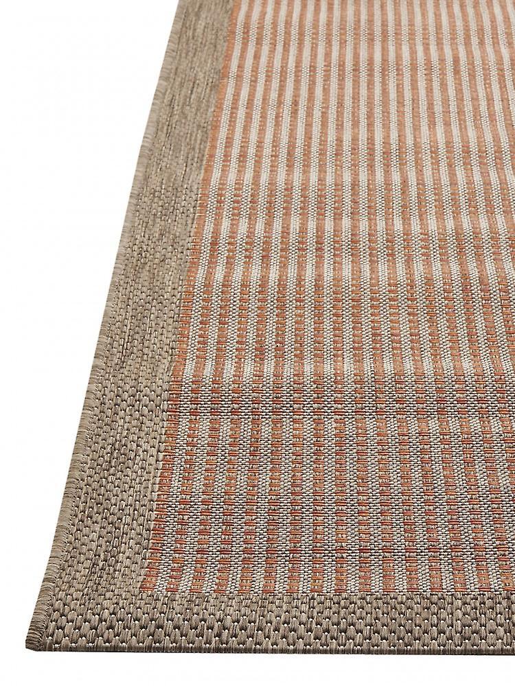 outdoor teppich f r terrasse balkon rot braun essentials chrome terra 160 230 cm teppich. Black Bedroom Furniture Sets. Home Design Ideas