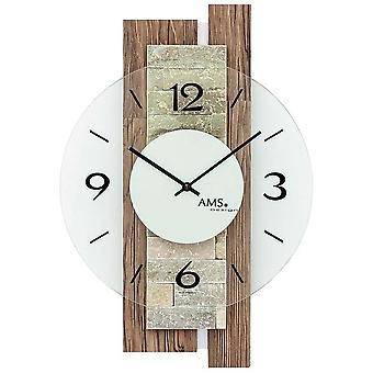 Wall clock AMS - 9543