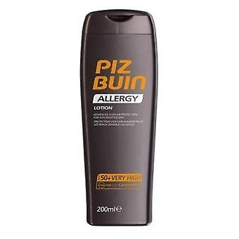 Piz Buin Allergy Lotion with Spf50 + for Sensitive Skin 200 ml