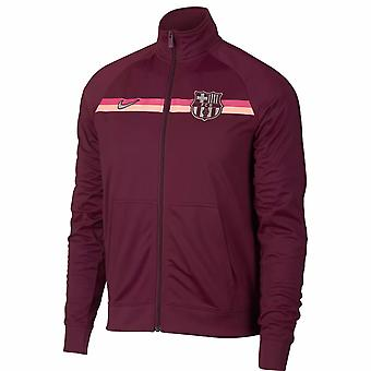 2018-2019 Barcelona Nike Core Trainer Jacket (Maroon)