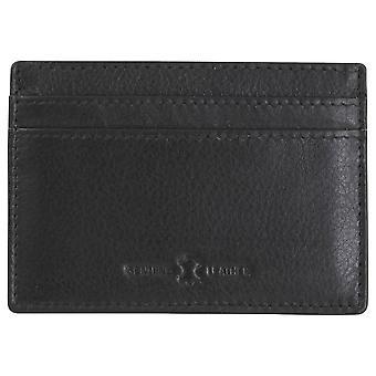 Dalaco slanke RFID Card houder - zwart