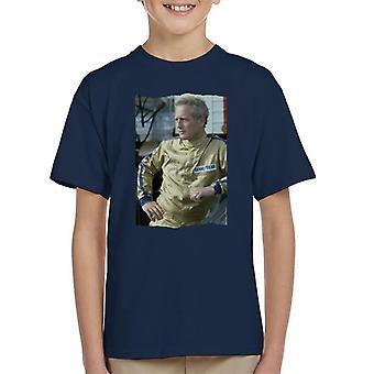 TV Zeiten Paul Newman Race Suit 1974 Kinder T-Shirt