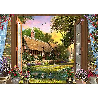 Schmidt Dominic Davison: View Of The Cottage Jigsaw Puzzle (1000 Pieces)