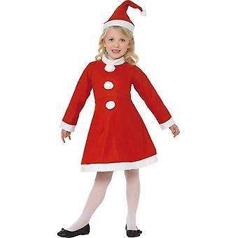 Smiffy's Value Santa Girl Costume