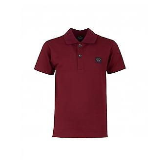 Paul en Shark Junior Badge Logo Polo