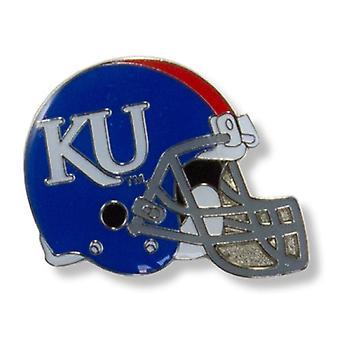 Kansas Jayhawks NCAA Helmet Pin