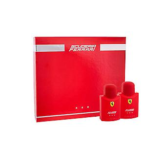 Giftset Ferrari Scuderia Ferrari Red Edt 75 ml + Aftershave 75 ml