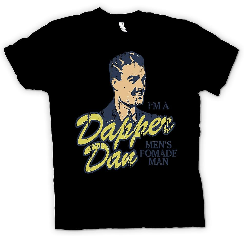 Mens t-shirt - Dapper Dan - Im A Mens pomata Man - film ispirato