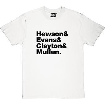 U2 Line-Up Herren T-Shirt