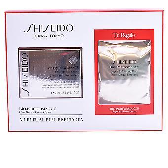 Shiseido bio-performance Glow revival creme Set 4 PZ para mulheres