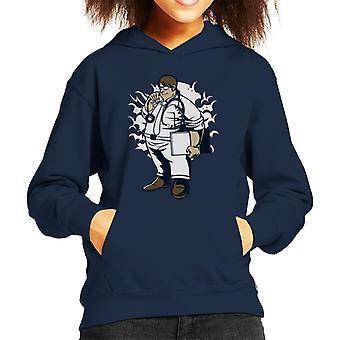 Fat Doctor Kid's Hooded Sweatshirt