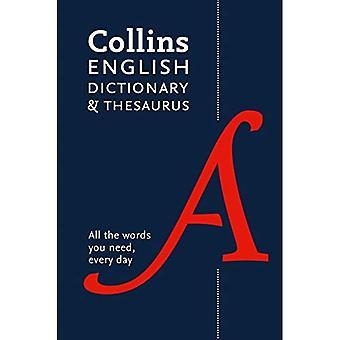 Collins English Dictionary und Thesaurus: Paperback-Ausgabe