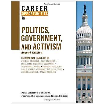 Opportunità di carriera in politica, governo e attivismo