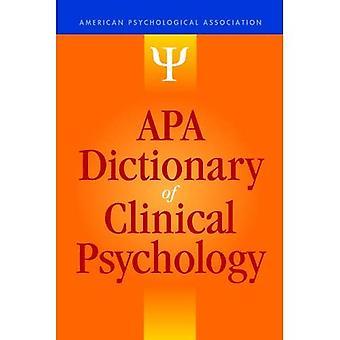 APA Wörterbuch der klinischen Psychologie