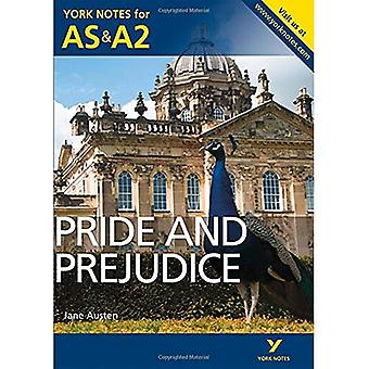 Pride and Prejudice: York Notes for AS & A2 (York Notes Advanced)