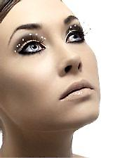 Eyelashes - Black - with Droplets - Contains Glue