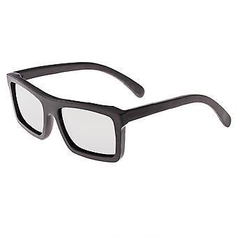Earth Wood Hamoa Polarized Sunglasses - Espresso/Silver
