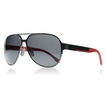 هوجو بوس 0669/S 32P3H Gunmetal/0669 أحمر/S التجريبية النظارات الشمسية يستقطب فئة 3 حجم العدسة 62 ملم