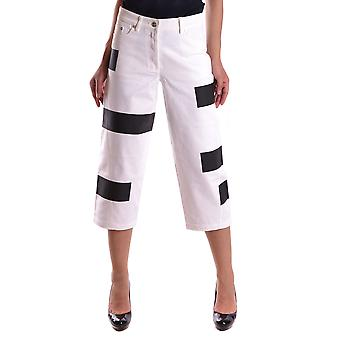 Kenzo White Cotton Pants