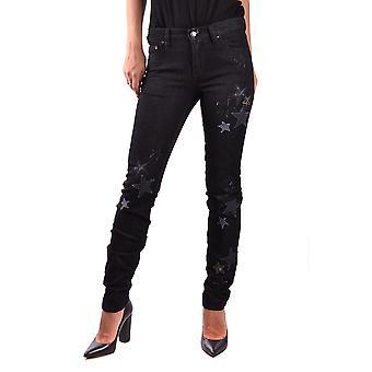 Red Valentino Black Cotton Jeans