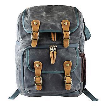 Robust Camera backpack in the Vintage Design-Grey