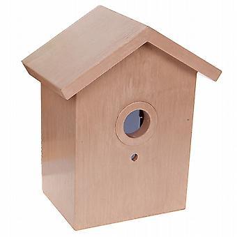 2 uccello orologio segreta Birdhouse visualizzazione posteriore (955011)