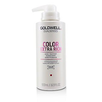 Goldwell デュアルセンスカラーエクストラリッチ60SEC トリートメント (粗毛用光度)-500ml/16.9 オンス