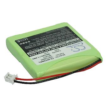 Battery Battery battery battery for Audioline Slim Dect 582 Accessories Replacement Battery Accu