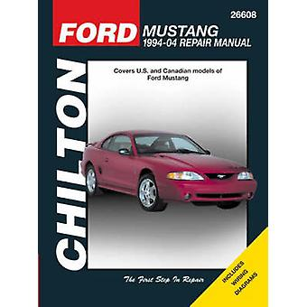 Ford Mustang Automotive Repair Manual - 94-04 by George B Heinrich - R