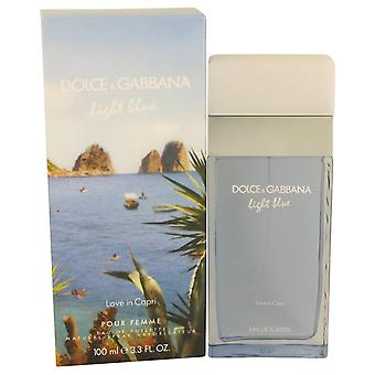 Light Blue Love In Capri Eau De Toilette Spray By Dolce & Gabbana
