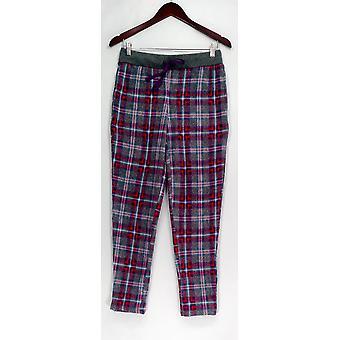 Cuddl Duds Petite PXS Fleecewear Stretch Novelty Gray A297370