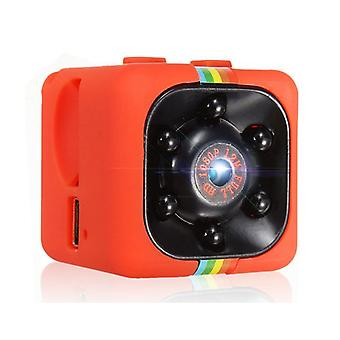 Stuff Certified ® SQ11 Mini Camera HD 1080p Nightvision Motion Detector Red