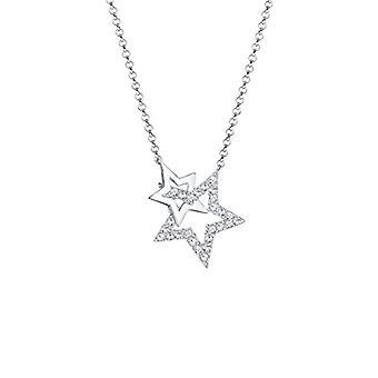 Elli Collier von Weiß Silber Frau 925 - Größe 45 0103781218_45