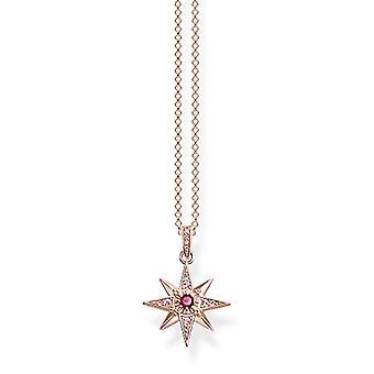 Thomas Sabo Donna Vermeil Necklace with Pendant KE1897-626-10-L45v