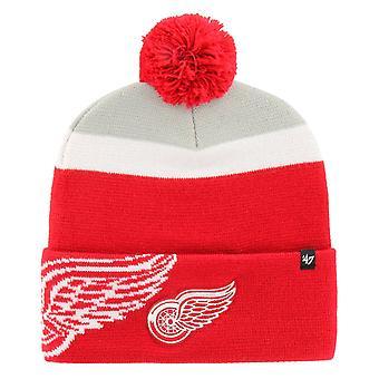 47 Brand Beanie Wintermütze - MOKEMA Detroit Red Wings