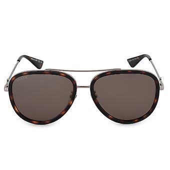 Gucci Aviator Sunglasses GG0062S 002 57