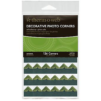 Decorative Photo Corners 126 Pkg Gold Pcs126 3878