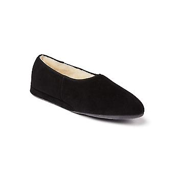 Ladies Ayr Sheepskin Slippers - Black