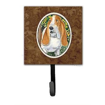 Basset Hound Leash Holder or Key Hook