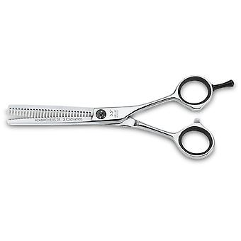 3 Claveles Hairdressing Scissors Azabache Sculpt 5.5 Inches