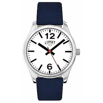 Limit Mens Blue Strap White Dial 5627 Watch