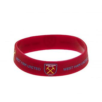 West Ham United Silicone Wristband