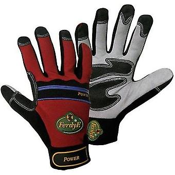 FerdyF. 1910 Glove Mechanics POWER Clarino-Synthetic Leather Siz